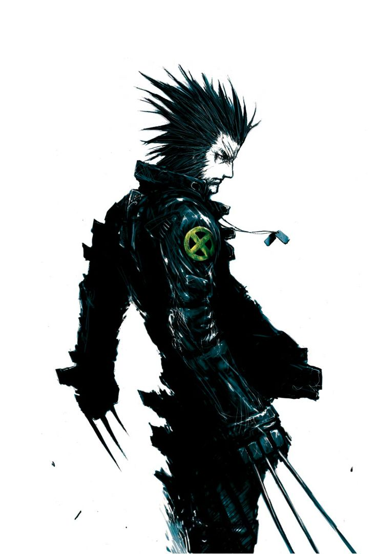 Wolverine - by Tsutomu Nihei | #comics #marvel