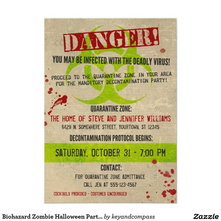 409 best Halloween Invitations and Cards from Zazzlers! images on ...