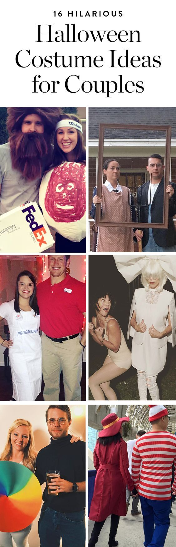 Check out these funny couples Halloween costume ideas you'll want to recreate this year. #halloween #halloweencostumes