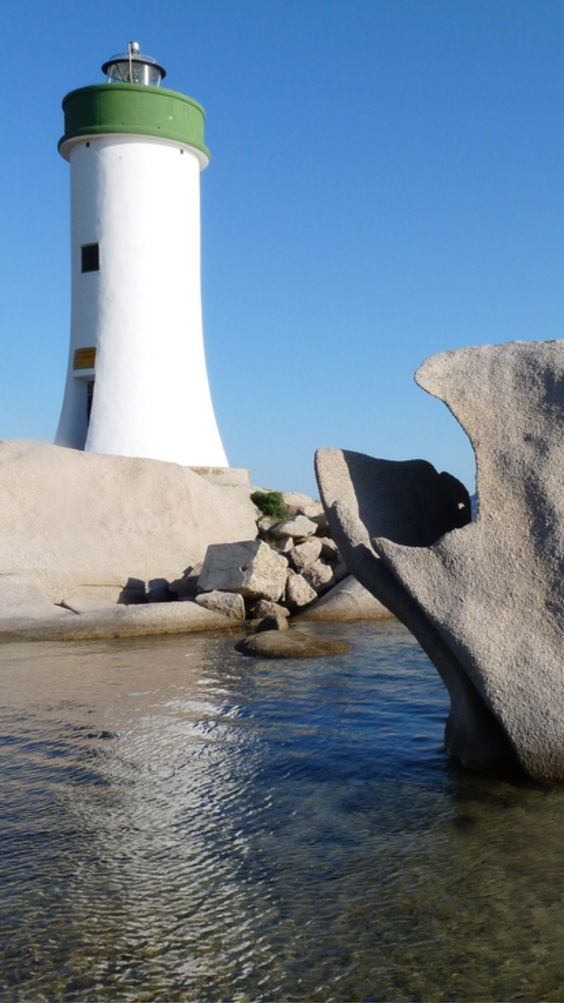 Porto Palau #Lighthouse in #Sardinia- by Cool Pooch: - http://dennisharper.lnf.com/