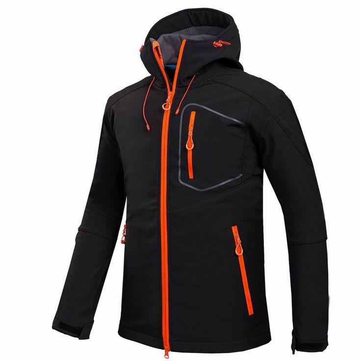 2016 Новый GTX Активной Оболочки Куртка Зимние Походы Softshell Куртка Мужчины Ветрозащитный Водонепроницаемый Тепловой Для Туризм Отдых Езда #women, #men, #hats, #watches, #belts