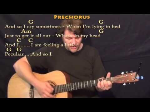 What's Up (4 NON BLONDES) Strum Guitar Cover Lesson in G with Chords/Lyrics - YouTube