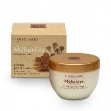Meharées testápoló krém - Rendeld meg online! Lerbolario Naturkozmetikumok http://lerbolario-naturkozmetikumok.hu/kategoriak/testapolas/testapolok