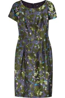 Lillian Watercolor-Floral wool-blend dress J. Crew  Net-a-Porter: Floral Prints, Watercolor Floral Wool Blend, J Crew, Floraldress Floral, Lillian Watercolor Floral, Jcrew, Floral Dresses