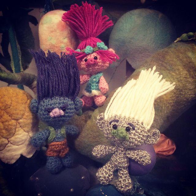 Trolls! – 10 free patterns to crochet – Grandmother's Pattern Book