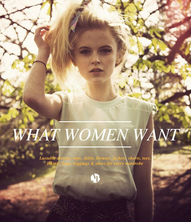 WHAT WOMEN WANT newsletter - http://youngrepublic.createsend5.com/t/ViewEmail/r/76E4B53F542EA2BF/7CB7B56516B8113E23B7CB3C95A53812