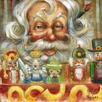 Nutcracker Santa | Celia Meadors Art - Amarillo, Texas