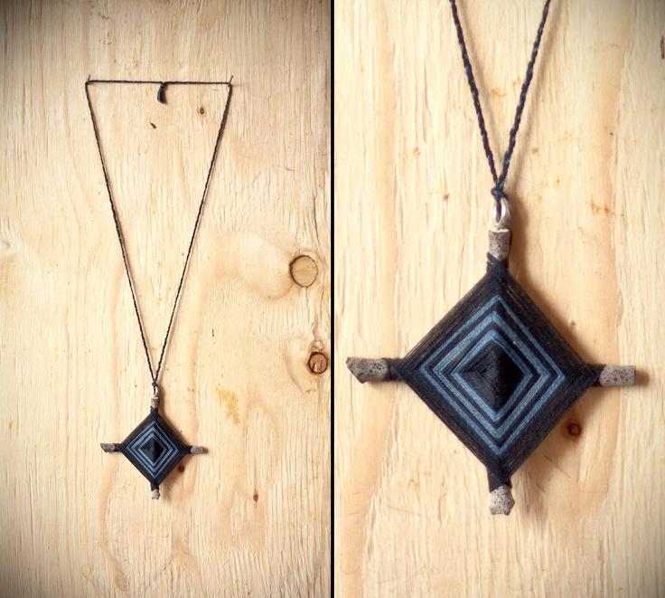Gods eye necklace