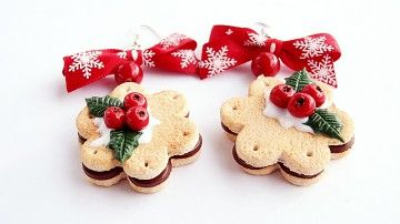 Ciasteczkowe kolczyki całkiem podbiły moje serce. ;)
