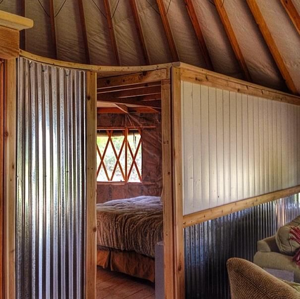 Photos: One Coupleu0027s Off The Grid Yurt In Montana