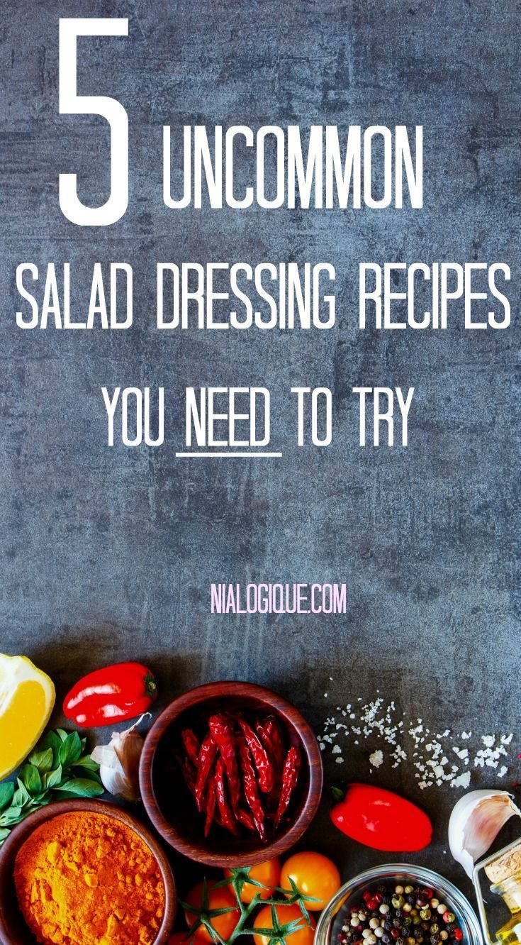 5 mouthwatering vegan salad dressing recipes you need to try.