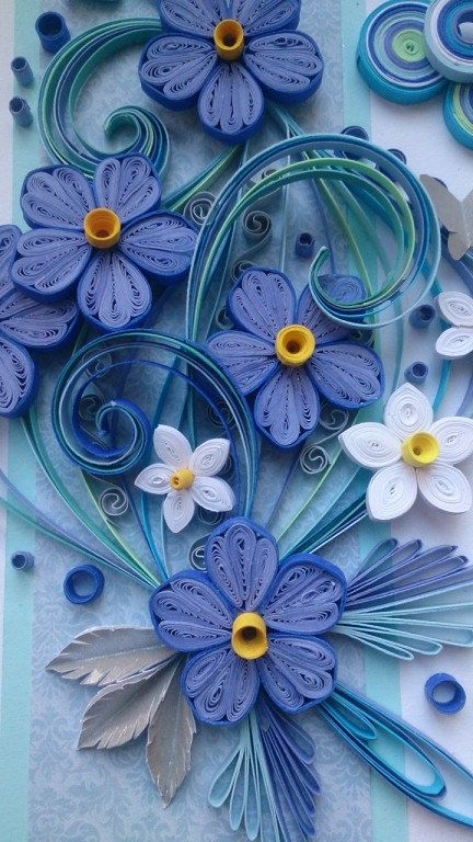Quilling Card By QuillingByKadriya On Etsy Quilling 3D