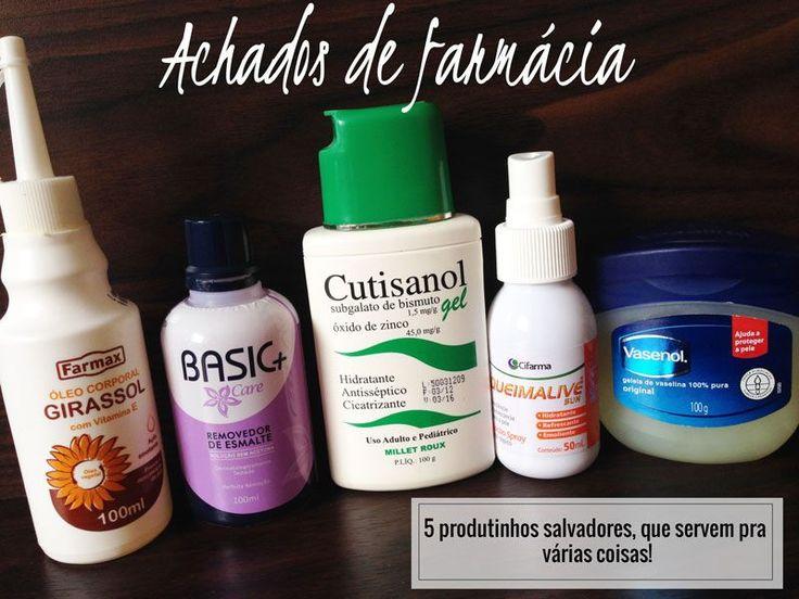 Achados de Farmácia: 5 produtinhos salvadores pra pele e unhas!