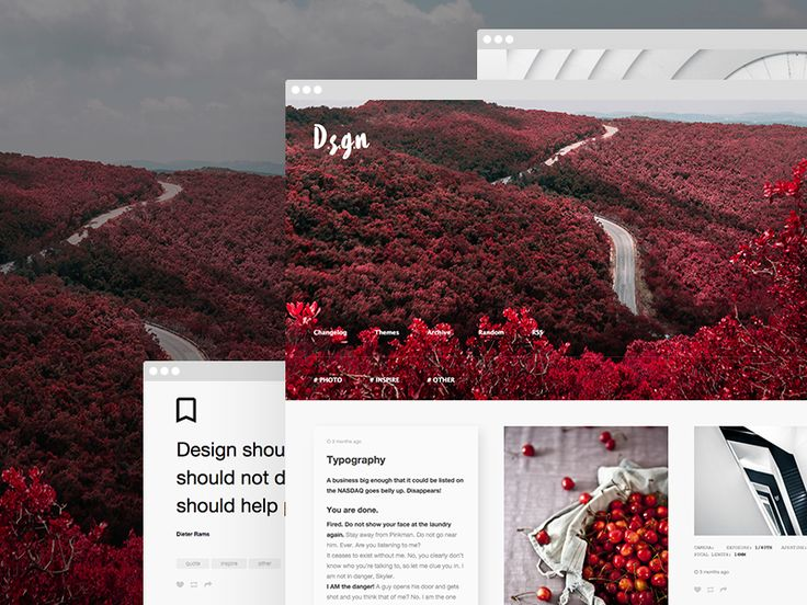 D.S.G.N - Tumblr Theme - Grid Based #tumblr #theme #layout #portfolio #inspire #gallery #grid