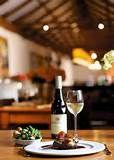 Diemersdal - really nice tapas, really great sauvignon blanc