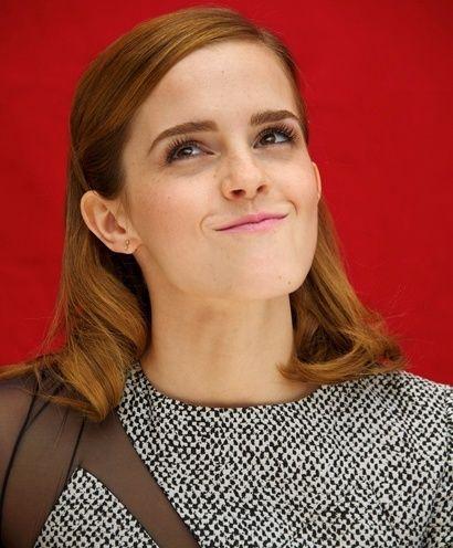 Emma watson no makeup selfie | #Celebrities #Style #WithoutMakeup