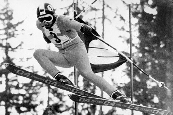Franz Klammer was a hero in Austria. A winner of 8 of 9 World Cup downhill races in 1975