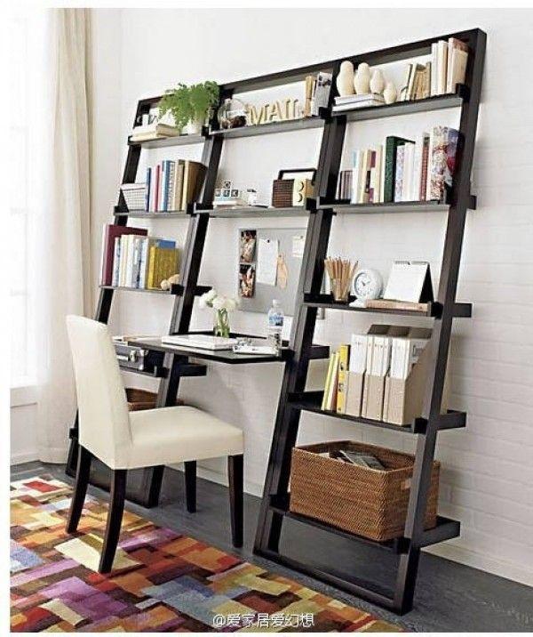 15 modern functional desk designs that make work spaces. Black Bedroom Furniture Sets. Home Design Ideas
