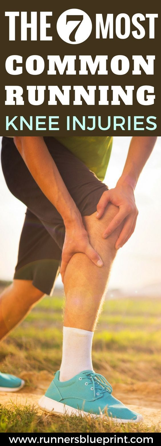 The high impact nature of running (and doing it the wrong way) can result in muscle strains, soreness, inflammation, and severe injuries to these joints, ligaments, and cartilage.  Therefore, it's no surprise that the knee is the most common site for injuries among runners (and athletes from all backgrounds). In fact, knee injuries make up roughly 50 percent of all sports injuries, according to research.  http://www.runnersblueprint.com/the-7-most-common-running-knee-injuries…