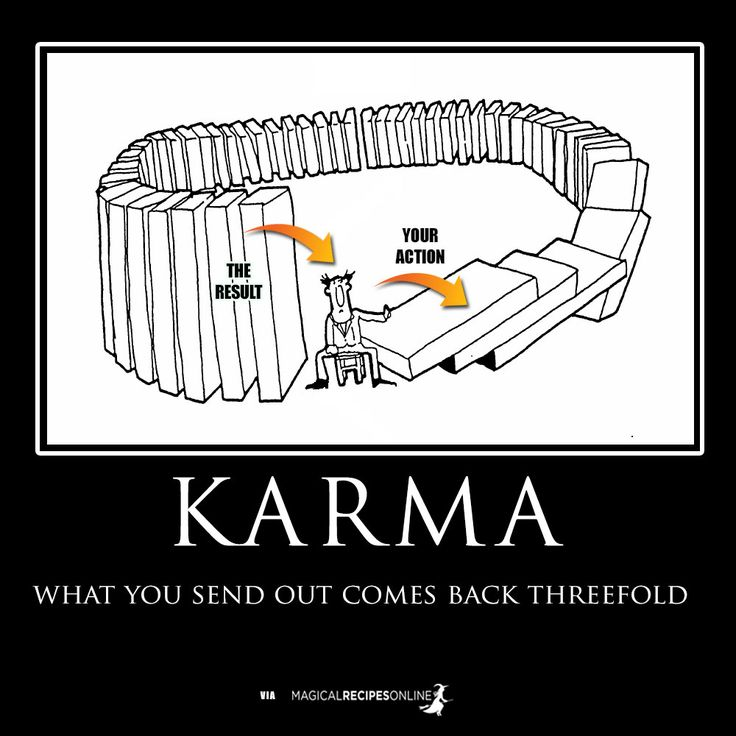 how to get rid of bad karma or a curse