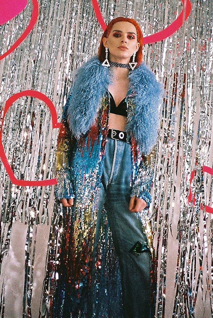 Ombre Sequin Coat - Isolated Heroes
