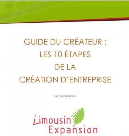 T l charger un guide gratuit qui aborde en 10 points les for Creation entreprise qui marche