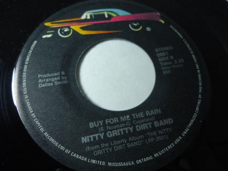 Nitty Gritty Dirt Band - Mr. Bojangles / Buy For Me The Rain