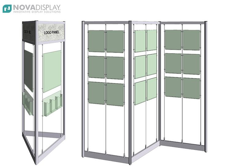 Kiosk & Screen Style Display Stands