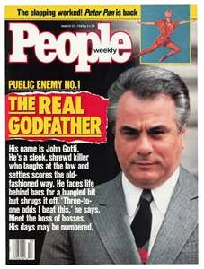 John Gotti  Sharp dresser But just a mobster after all is said and done