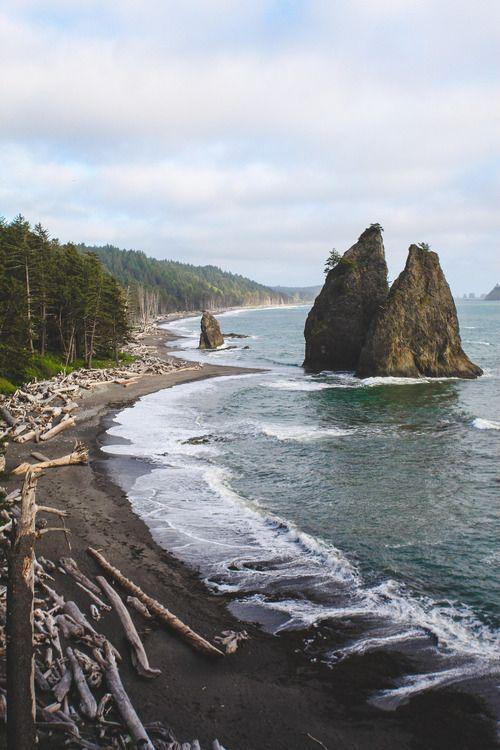 Driftwood Beach, Oregon