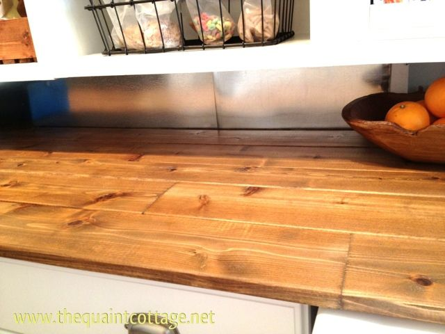 Diy Counters And Back Splash On A Budget Wood