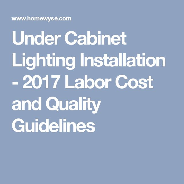 1000 Ideas About Installing Under Cabinet Lighting On Pinterest Cabinet Lights Under Cabinet