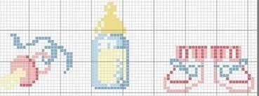 graficos em ponto cruz para bebe - Cerca con Google