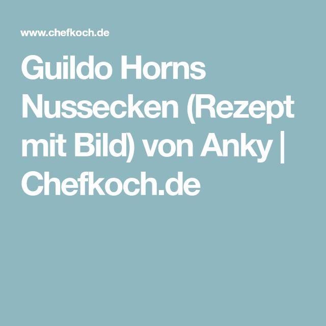 Guildo Horns Nussecken (Rezept mit Bild) von Anky   Chefkoch.de