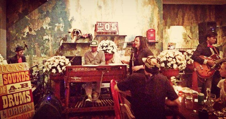 Lucas and A.B. A Hammond Organ And Drum Ensemble