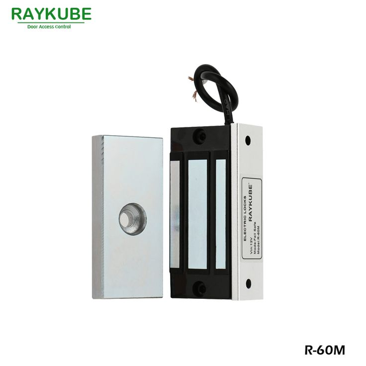 compare prices raykube mini 60kg magnetic lock 120lbs electric lock for cabinet single door access #magnetic #door #lock