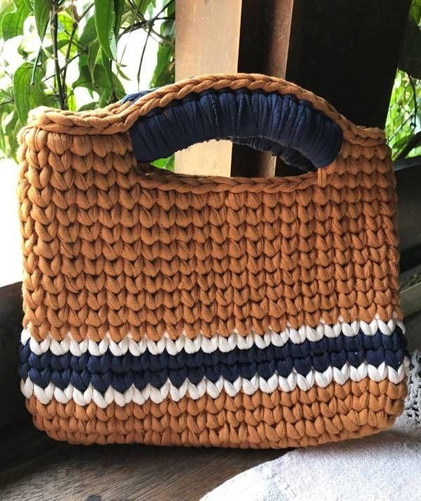 515c5efd9 18 Ideias para Você Fazer Bolsas de Crochê   NATURAL ELEGANTE ...
