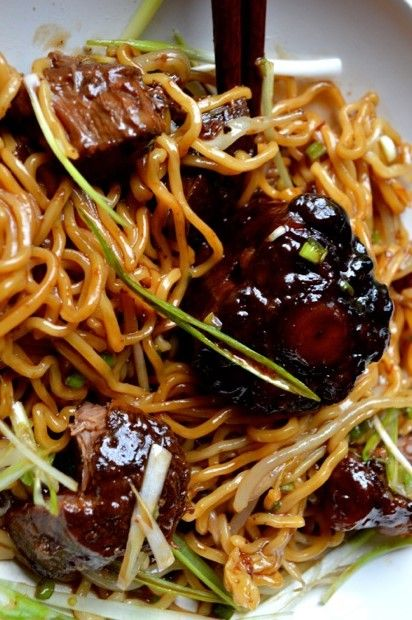 Braised Oxtail Noodles #braised #oxtail #noodles