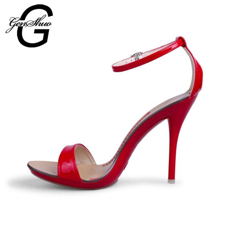 L YC Femmes Talons hauts Printemps été automne Pente avec orteil ouvert Mariage en velours rouge , red , 39