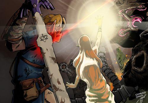 "dibujantedemierda: ""The Legend of Zelda: Breath of the Wild """