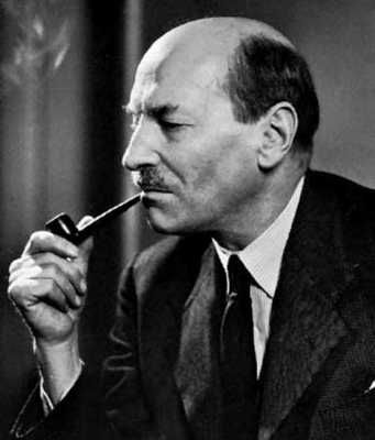 Clement Attlee, born Putney, Borough of Wandsworth, South-west London, 1883. British Prime Minister