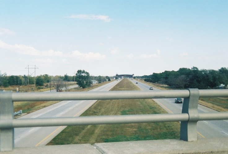 A View Of The Great Platte River Road Archway Monument In