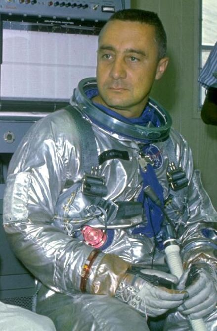 """Gus"" Grissom (1926 - 1967) One of the orginial Mercury 7 astronauts, he died in a fire on the launch pad while strapped into the Apollo 1 capsule for a test"