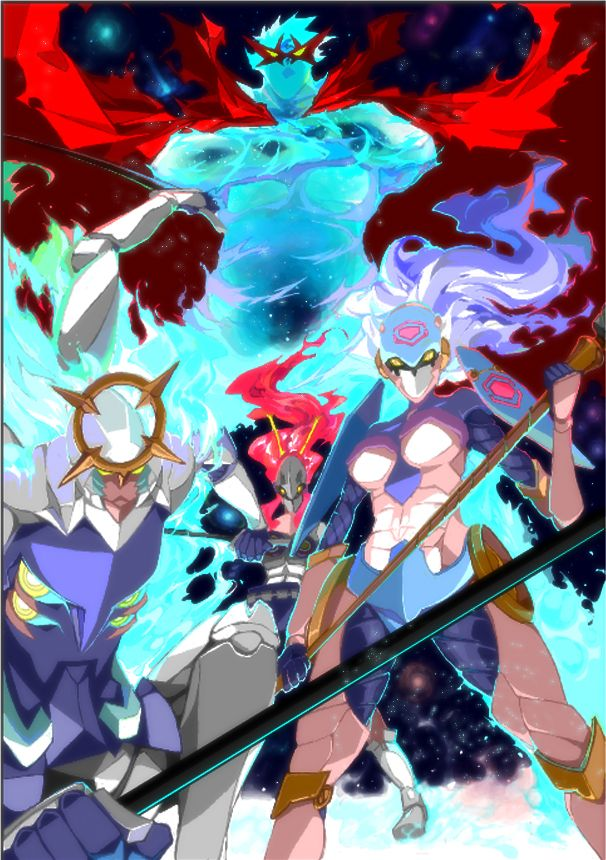 Image result for Super Tengen Toppa Gurren Lagann vs goku pinterest