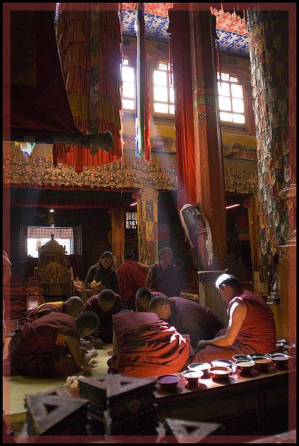 Tibetan Monastery @@@@......http://www.pinterest.com/marit0704/people-and-cultures/