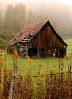 Forgotten Barn-when we build our barn I want to paint it using gear oil so it gives it this kind of look