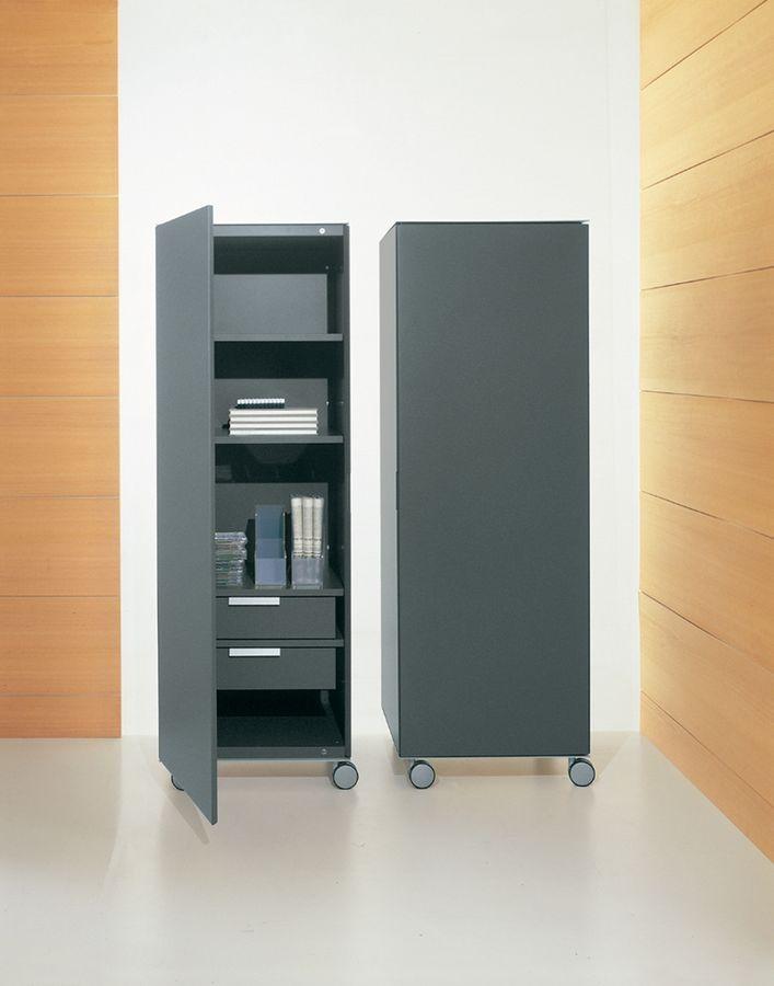 Contenitore verticale per ufficio, mobile la casa IDFdesign