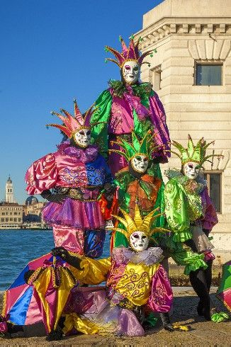 Carnevale.  Beautiful - and a bit scary at the same time!