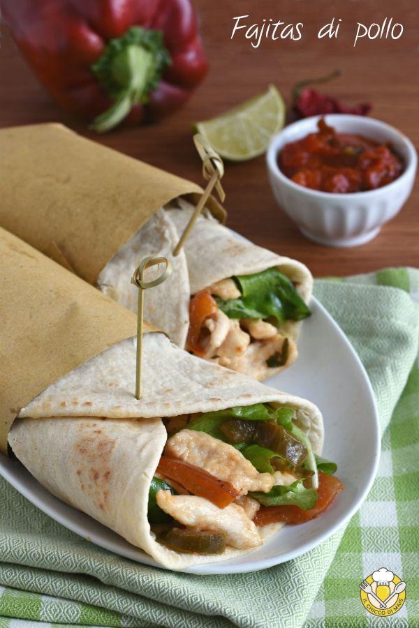 finest selection 2745f a0669 Fajitas di pollo, il tipico piatto messicano saporito e ...