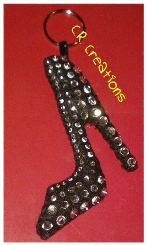 Scarpa portachiavi in pannolenci #portachiavi #keychain #felt #handmade #shoes